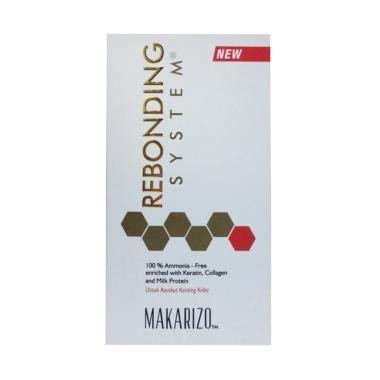 Harga Obat Pelurus Rambut Extenso jual makarizo rebonding system obat pelurus rambut kribo