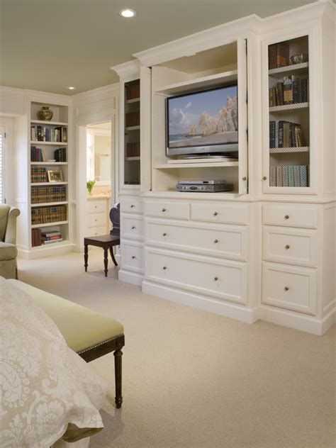 master bedroom built in cabinets built ins facing bed w cabinet for hiding tv i love the