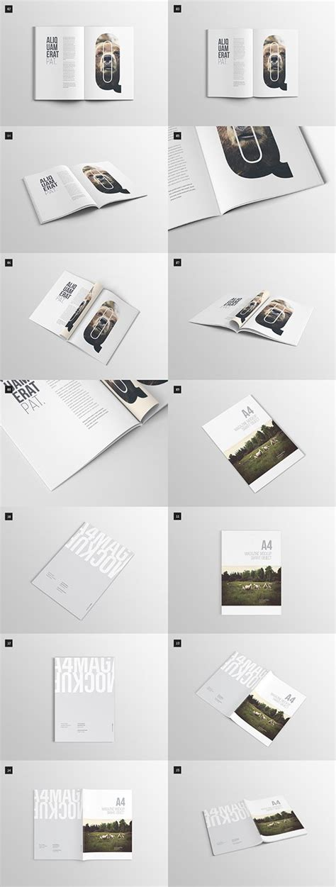 layout design psd 75 free psd magazine book cover brochure mock ups