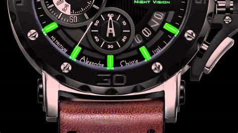 Alexandre Christie Ac 6359 Chronograph Black Stainless Steel Original ac 9201n