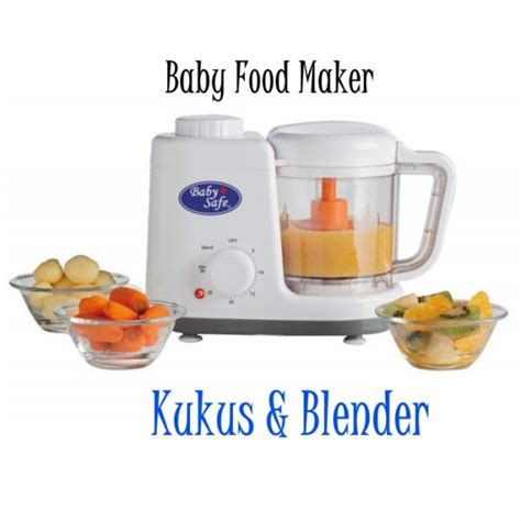 Baby Safe Blender babysafe baby food maker steamer dan blender di asibayi