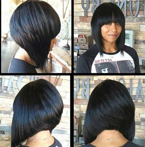 inverted bob with weave 15 collection of inverted bob hairstyles with bangs