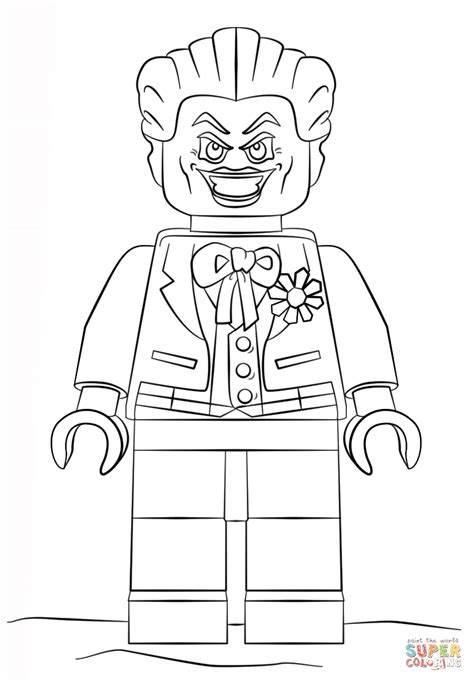 joker coloring pages easy coloring pages