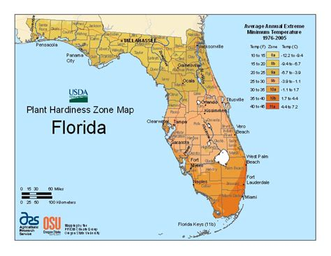 florida time zone map planting the seed your zone the usda plant hardiness zone map has changed