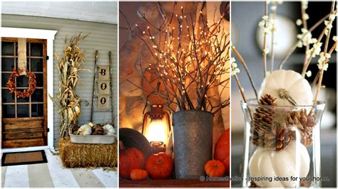 diy fall decor 30 magical diy fall decorations for your household