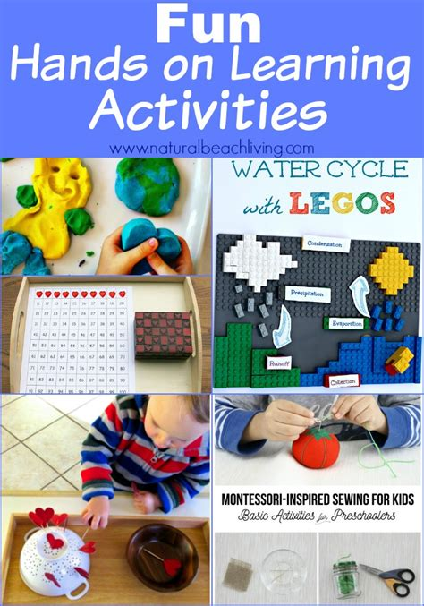 fun learning activities for 1845908929 hands on learning activities with kids linky 54 natural beach living