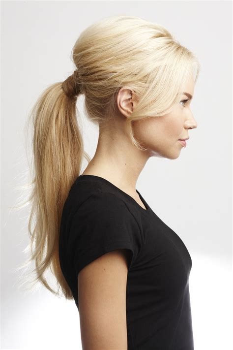 hair in pony tail with bangs ways to make ponytail hairstyle with bangs and fringes