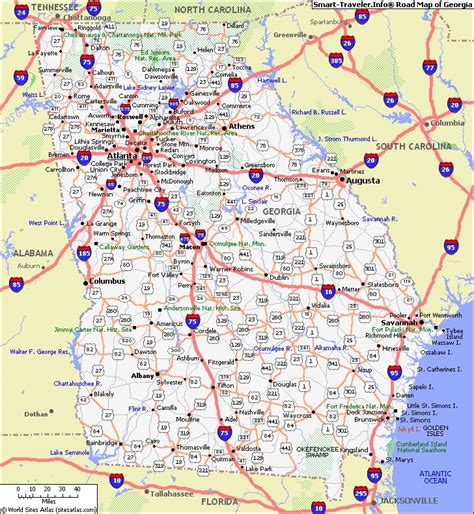 map of ga map with cities map of click now for city maps places to go and many