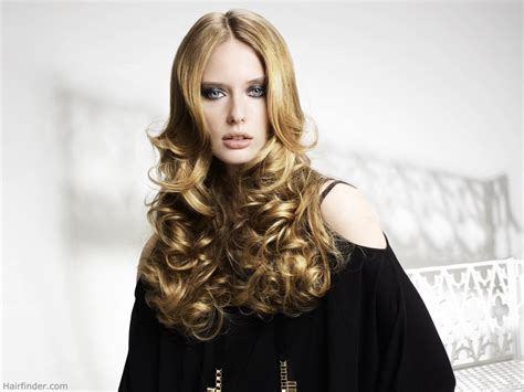 styling gel long hair long hair with curls set using heated rollers