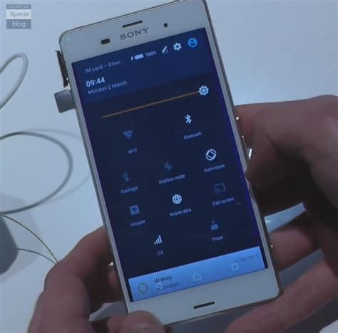 Imo Z3 Second here is android lollipop running on the xperia z3