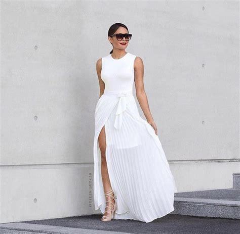 skirt haute rogue maxi skirt slit skirt high waisted