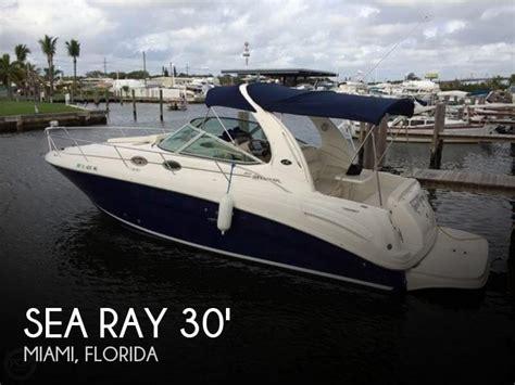 sea ray boats for sale miami sold sea ray 300 sundancer boat in miami fl 122523