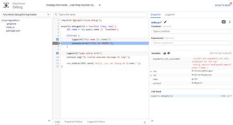 google snapshots serverless non blocking debugowanie na produkcji cloud