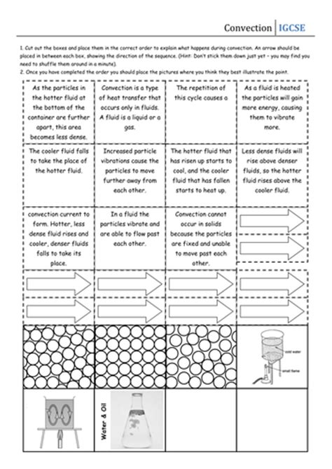 Currents Worksheet by Pictures Convection Worksheet Dropwin