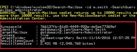 Search And Delete Email Exchange 2010 How To Delete Email From Mailboxes On Exchange 2016 2013