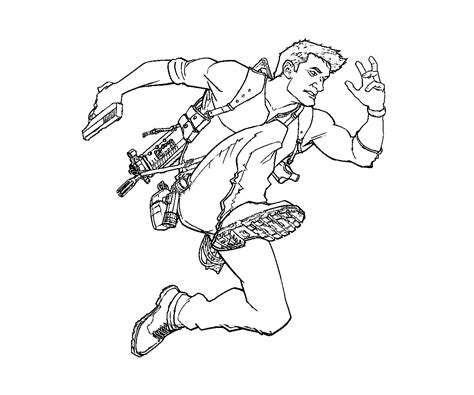 Uncharted 4 Coloring Pages by Uncharted 4 Coloring Pages Yumiko Fujiwara