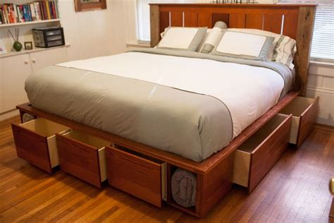 king captains bed king size captains bed frame woodworking projects plans