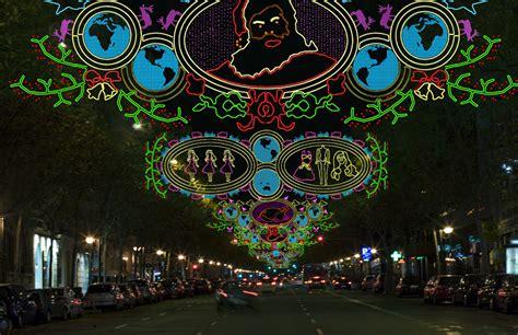 Ilusiones Opticas Navidad | las ciudades se visten de navidad