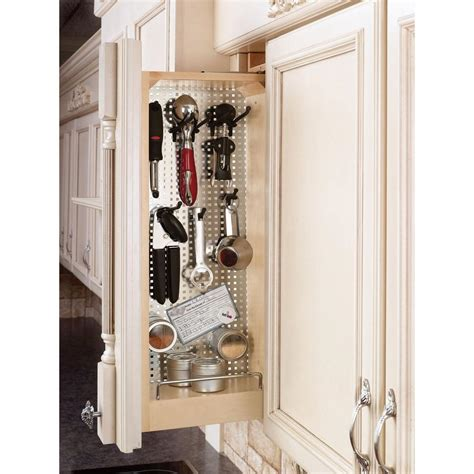 rev a shelf 7 in h x 11 75 in w x 22 in d base cabinet rev a shelf 30 in h x 6 in w x 11 125 in d pull out