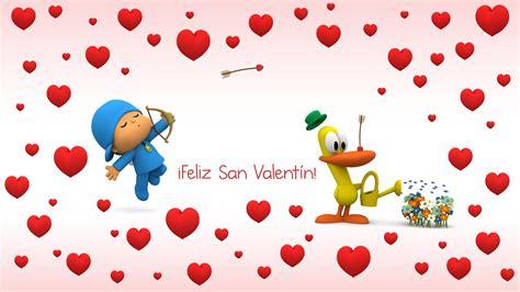 imagenes q digan feliz dia de san valentin pin pocoyo amistad on pinterest