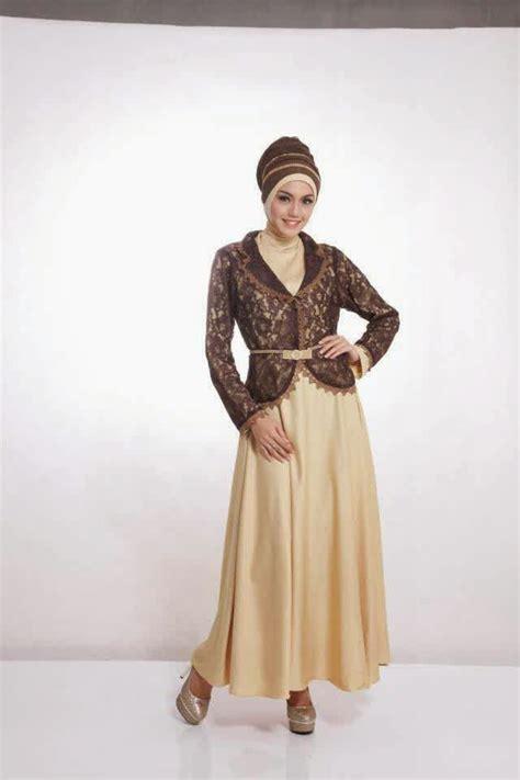 Batik Mutia Maroon Modis trend model baju gamis brokat terbaru dan populer