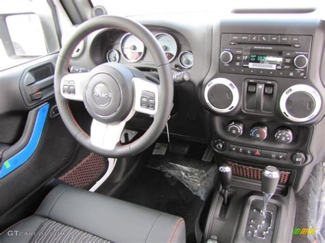 Jeep Wrangler Arctic Edition Interior by 2012 Jeep Wrangler Arctic Edition 4x4 Black With