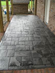 What Is Stamped Concrete Patio Why Is Stamped Concrete So Expensive