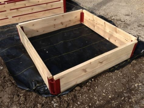 raised bed corner brackets 10 corner brackets custom landcsape ideas