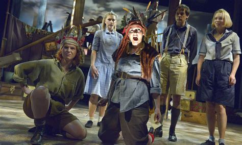 swallows and amazons swallows and amazons review stage the guardian