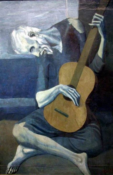 picasso paintings during period scc the guitarist