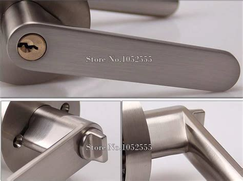 Interior Door Locks With Key Interior Door Lock Living Room Bedroom Bathroom Door Handle Lock Lever Door Handle Lock 3 Key