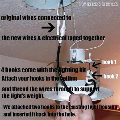 how to cover exposed electrical wires from gardners 2 bergers vase into mercury glass pendent