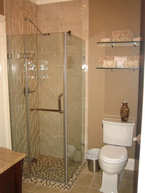 Small Bathroom Designs With Shower Adorable Decorating Designs And Ideas For The Small Bathroom