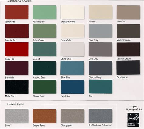 color selection metal roofre metal roof color selector
