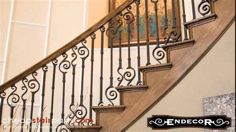cheap banisters endecor iron balusters cheap stair parts youtube