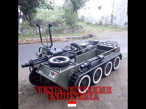 modifikasi vespa tank tank vespa