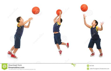 boy playing basketball isolated royalty  stock images image