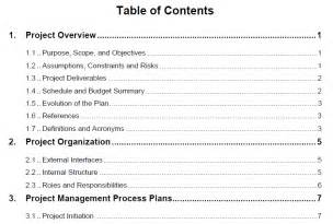 program management plan template week 3 project integration management and the of the