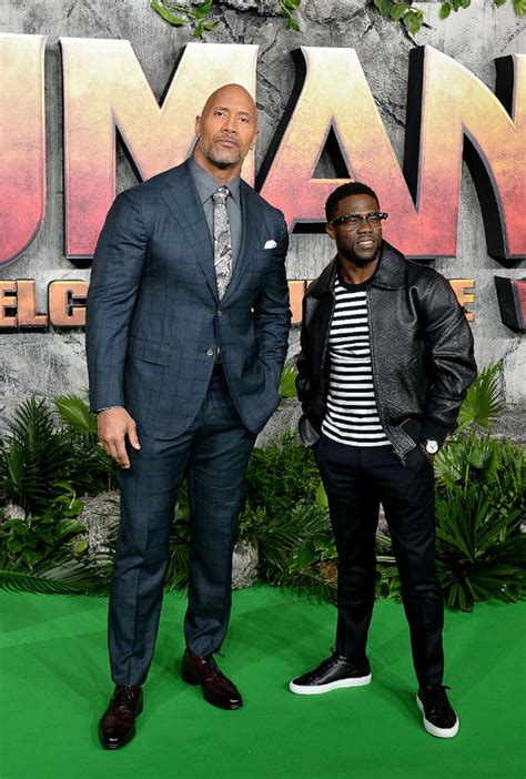 kevin hart and dwayne johnson wwe news could the rock make sensational wwe return to