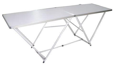 tavoli pieghevoli in alluminio tavolo pieghevole 200 x 60 in alluminio per mercatini