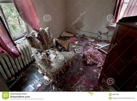 dirty living room living room chaos stock photo image of decay condition