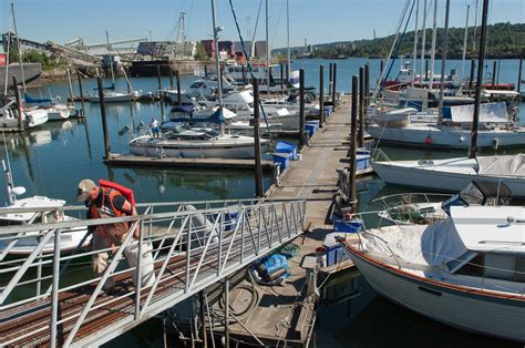 boat slips for sale washington state harbor island marina salty dog boating news ballard