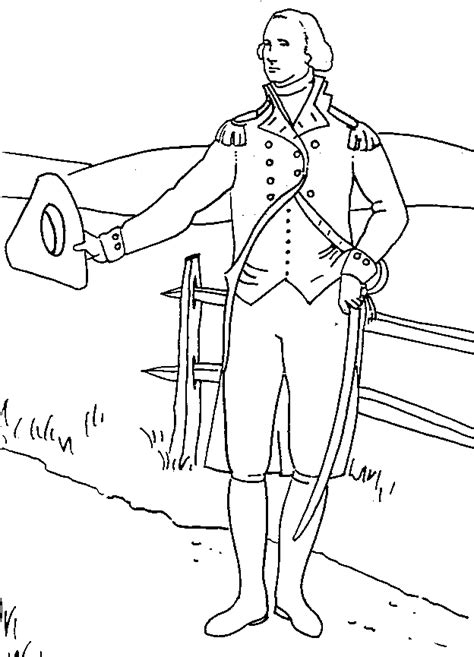 Patriots Day Free Online Full Movie coloring page of george washington coloring home