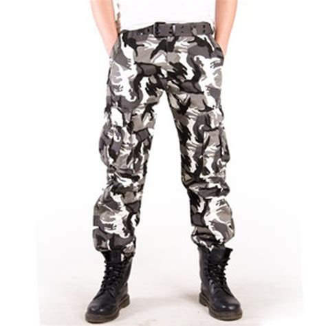 Cargo Army 7 9 combat camouflage army cargo fatigue trousers