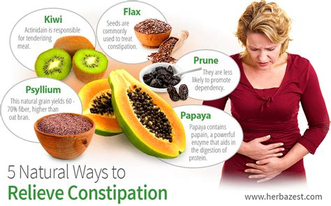 5 ways to relieve constipation herbazest