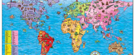 printable jigsaw map of the world win a world map jigsaw puzzle national geographic kids