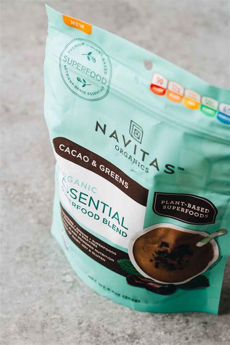Navitas Detox Boost by Chocolate Avocado Smoothie Vegan Gluten Free Jar Of