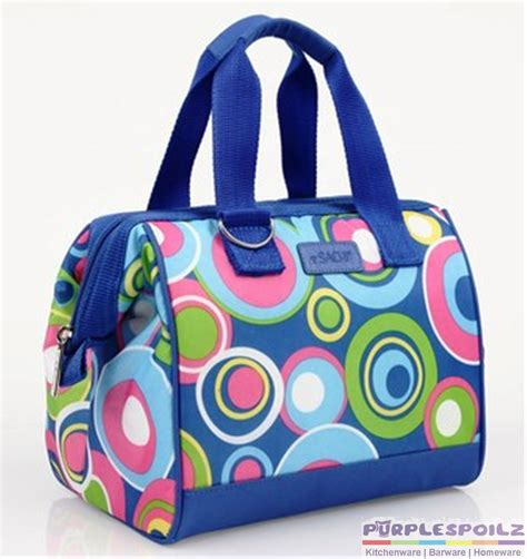 new sachi insulated lunch bag tote storage container carry