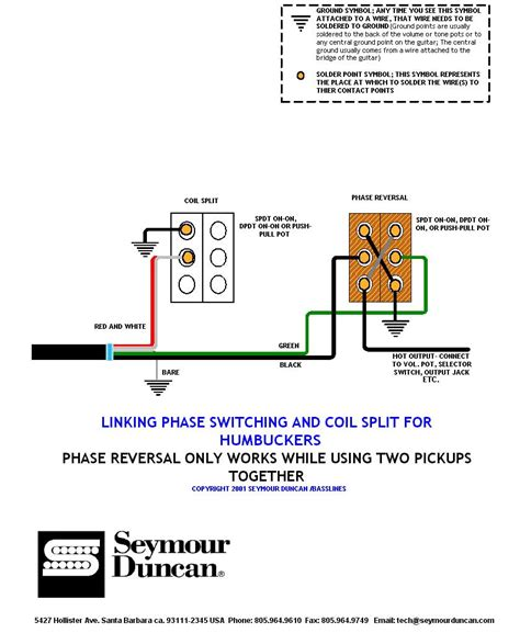seymour duncan coil split mini toggle wiring diagram