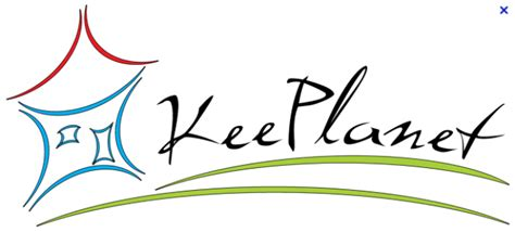 logo keeplanet agence briques en stock